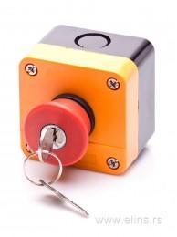 Pečurka sa ključem u kućištu HB2-J 184